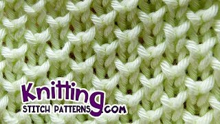 Bee stitch* - Looks like Pearl Brioche Knitting
