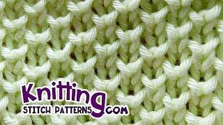 Bee stitch*  Looks like Pearl Brioche Knitting