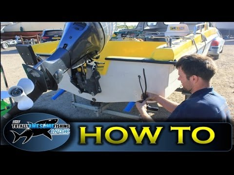 How To Install A Transducer - TAFishing Show