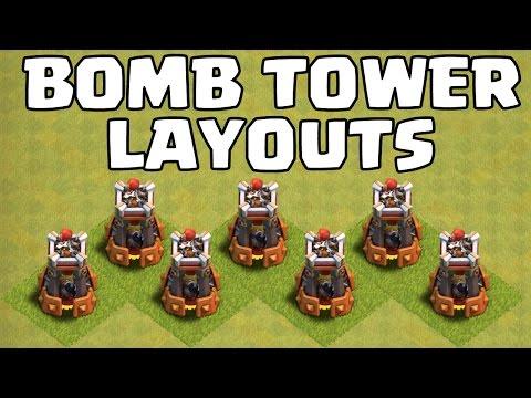 BOMBENTURM BASE LAYOUTS || RATHAUS 8 - 11 || CLASH OF CLANS || Let's Play CoC [Deutsch/German HD+]