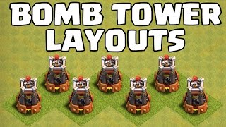 BOMBENTURM BASE LAYOUTS || RATHAUS 8 - 11 || CLASH OF CLANS || Let's Play CoC [Deutsch/German HD+]