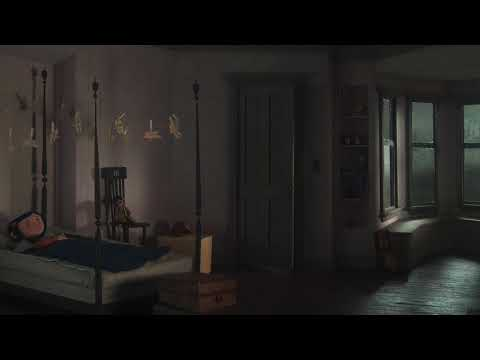 Asmr Coraline S Bedroom Rainy Night In The Pink Palace Soundscape Youtube