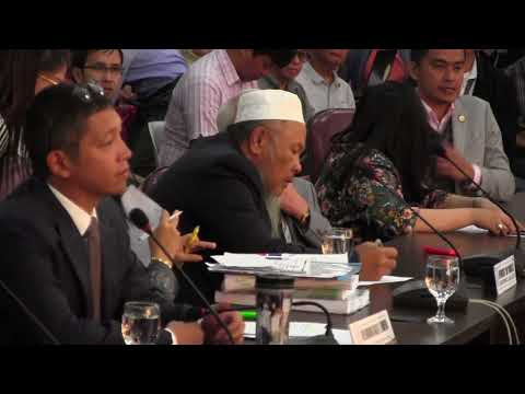 [FULL VIDEO] Pre Plenary Deliberations (ARMM) September 7, 2017