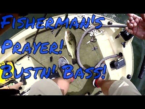 FIshin Prayer Works! Willow Lake AZ Bass Fishing!