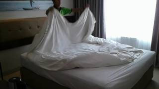 Making Bed Duvet King Tercepat