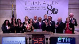 Ethan Allen Interiors, Inc. Celebrates 80th Anniversary Of Founding Rings The Nyse Closing Bell