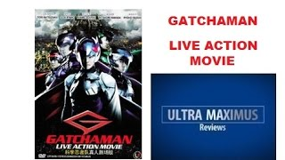 This is a review of the Gatchaman Live Action Movie DVD based on G-Force/Battle of the Planets Japanese Anime from the 1980s.