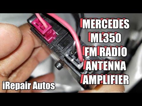 Mercedes ML350 FM Antenna Signal Amplifier DIY Replacement