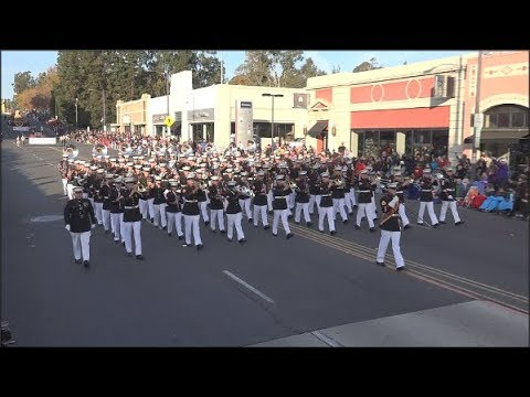 USMC West Coast Composite Band - 2018 Pasadena Rose Parade