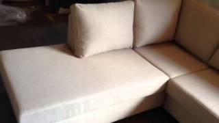 Australian Made 3 Seater Chaise Lounge