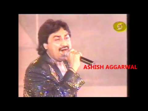 Kumar Sanu Filmfare stage Performance from the 90s