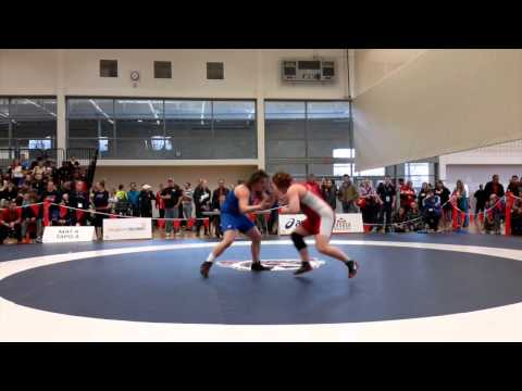 2015 Senior National Championships: 69 kg Kelsey Dayler vs. Hilary Goble