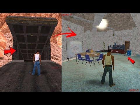 Este Es El Bunker Secreto De Gta San Andreas Lugar Subterraneo Escondido