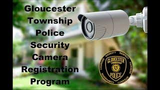 Gloucester Township Police Security Camera Program
