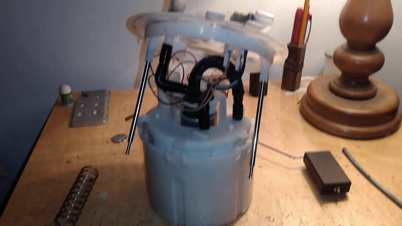 2007 2012 nissan sentra fuel filter strainer location youtube [ 1280 x 720 Pixel ]