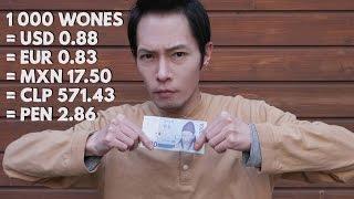 VIVIENDO UN DÍA POR 1000 WONES (Aprox. $1) | RETO