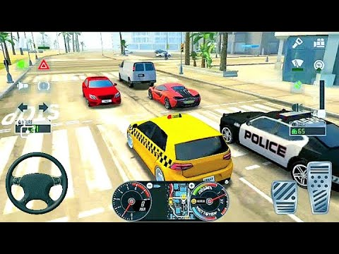 Download jeu de voiture taxi sim 2020 - voiture de course