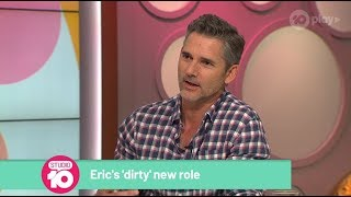 Eric Bana Dishes On 'Dirty' New Role | Studio 10
