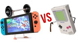 Nintendo SWITCH vs The ORIGINAL Gameboy