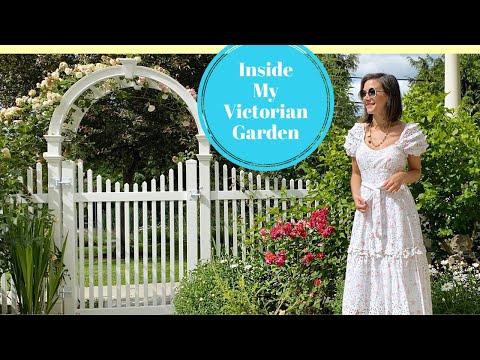Tour My Victorian Garden   Spring Gardening with Thrift Store Finds!