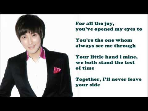 KangTa - For The First Time / with lyrics on screen