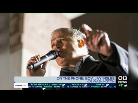 Governor Jay Inslee Discusses President Trump's Travel Ban