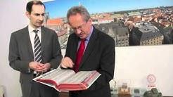 Telefonbuch München 2011 wurde OB Christian Ude im Rathaus vorgestellt
