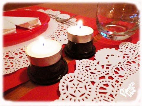 Come apparecchiare la tavola per una cena romantica san valentino youtube - Idee cena romantica a casa ...