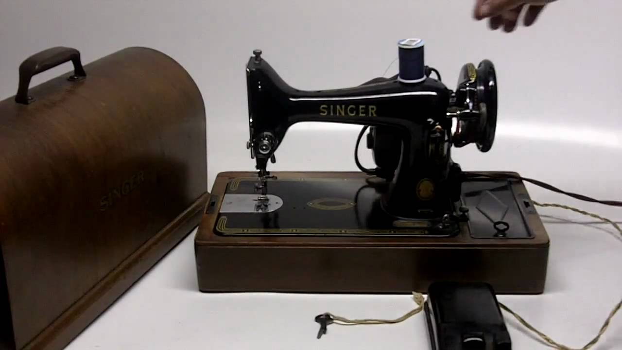 Vintage portable sewing