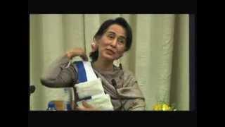 Aung San Suu Kyi à l