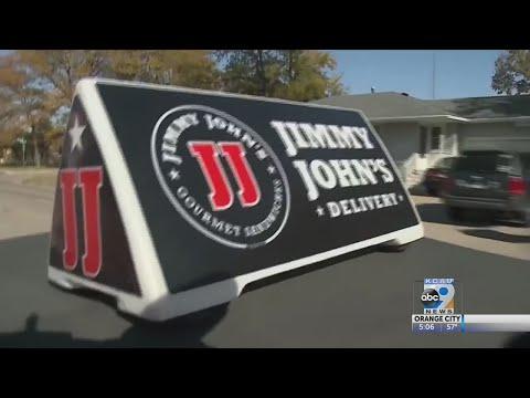 Nebraska Jimmy John's Driver Helps out Vet