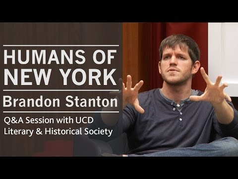 On portraying people in an honest moment | Humans of New York (HONY) creator Brandon Stanton