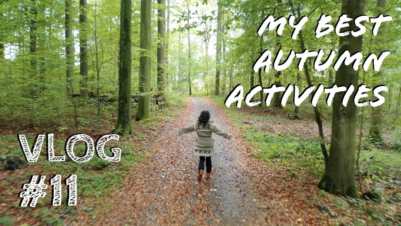 🍂RECONNECTING WITH NATURE and the SEASONS🍁 | AUTUMN ACTIVITIES | VLOG 11