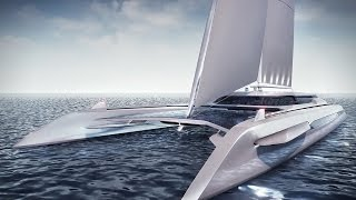 Eco Catamaran Yacht Concept