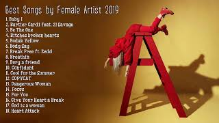 Top Tracks 2019 & New Pop Songs 2019 List - Hit Songs by Female Artists Playlist Video