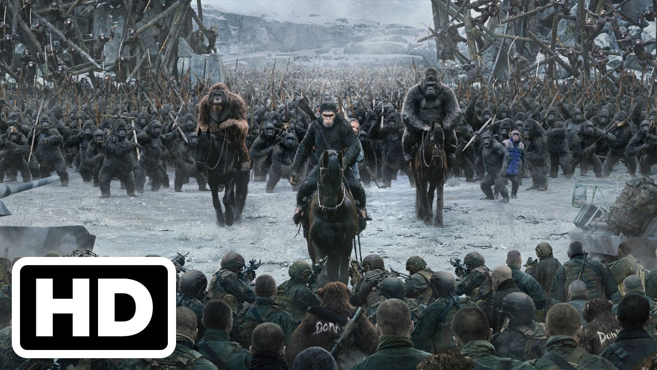 War For The Planet Of The Apes Final Trailer 2017 Youtube
