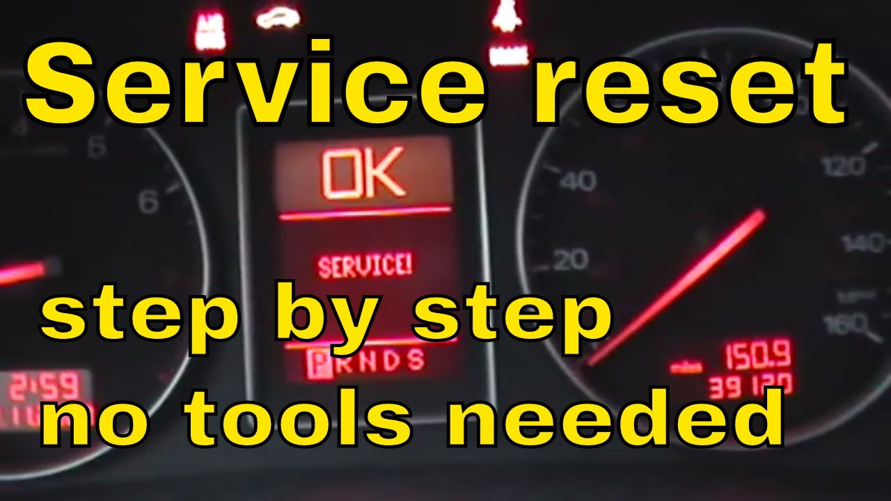 How To Reset The Service Interval On Audi A YouTube - Audi a4 maintenance schedule