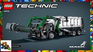 Інструкції Lego - Технік - 42078 - Мак® ЛР (модель 2)
