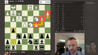 Developing a Plan in the Early Middlegame | Climbing the Rating Ladder vs. trhdude (1844)