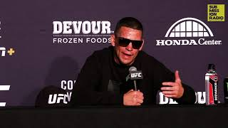 UFC 241: Nate Diaz Reacts to Win Over Anthony Pettis
