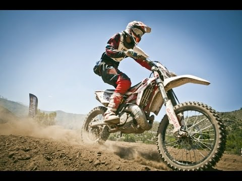 Extreme enduro race through the Andes Mountains