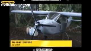 Neutralizan aeronave con cocaína en Vigía del Fuerte