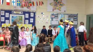 Kilrane N.S The princess and the pea musical, Ms Cummin's 1st and 2nd class, June 2016