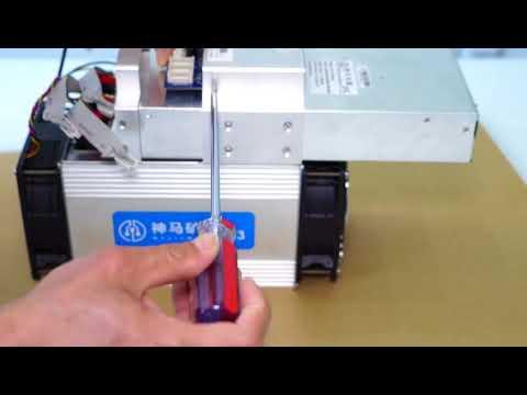 Whatsminer M3-V2 12-13TH/S controll board uninstall tutorial