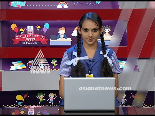 Child Editor Nikitha| Children's Day Special