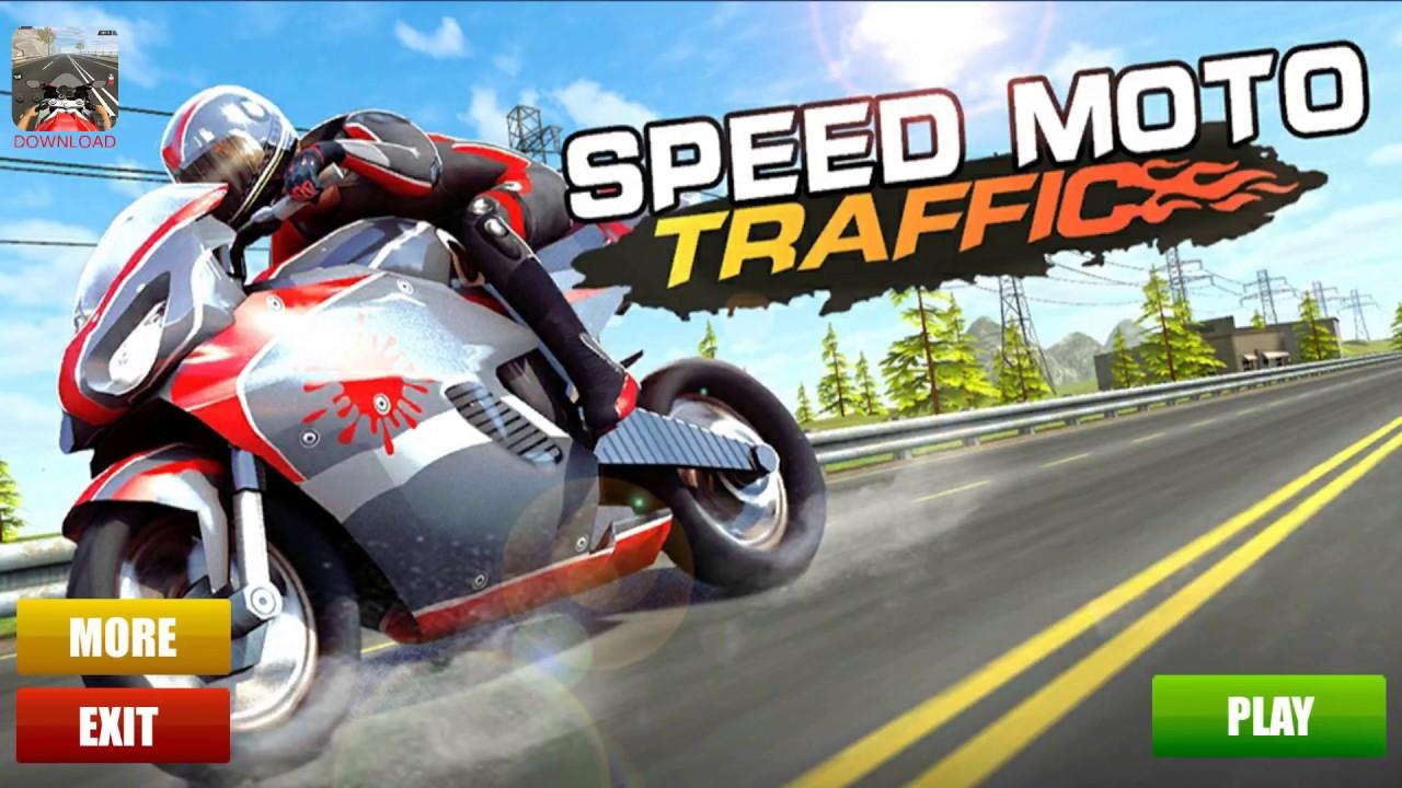Bike Racing Games - Speed Moto Traffic - Gameplay Android free games