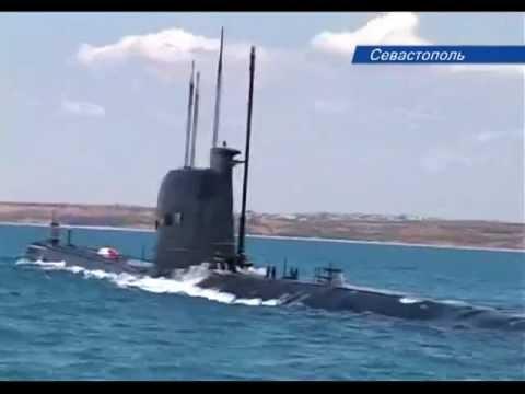 Подводная лодка 'Запорожье' ВМС Украины ушла под воду