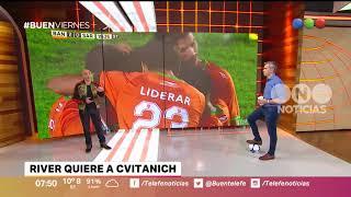 River quiere a Cvitanich - Buen Telefe