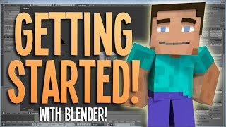 Getting Started! - Blender Minecraft Animation Tutorial | 1