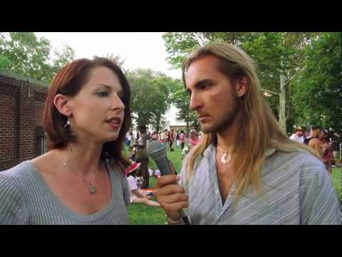 Amadon DellErba interviews Abby Martin, of Media Roots & RT at the 2012 Occupy National Gathering